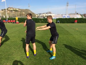 Nicolay Solberg og Niklas Sandberg.