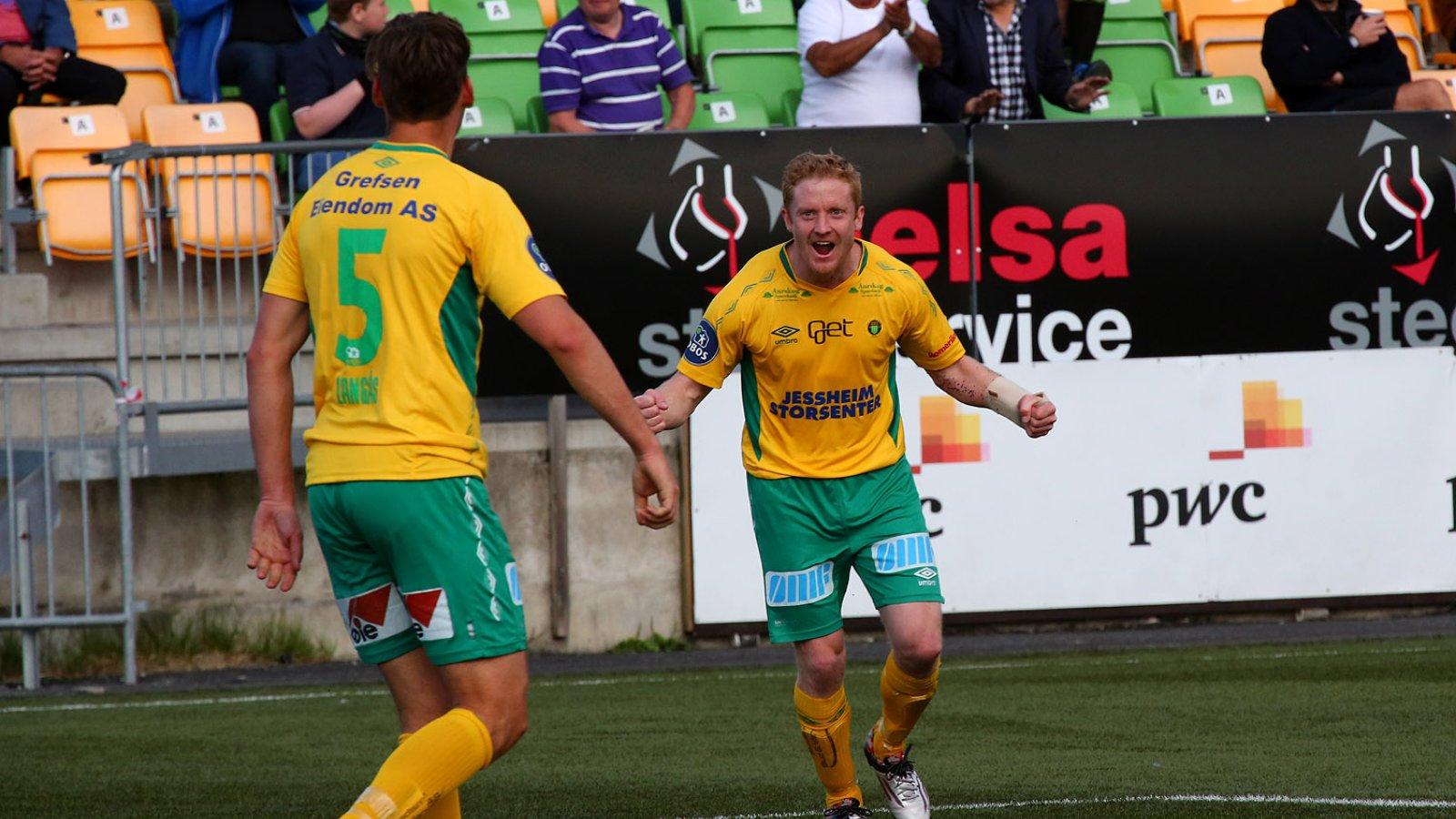 Ole Kristian Langås og Jan Tore Amundsen.