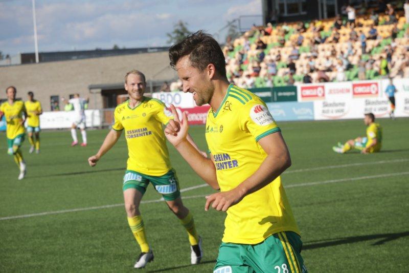 1-0: Stian Ringstad sendte Ull/Kisa i ledelsen mot HamKam.