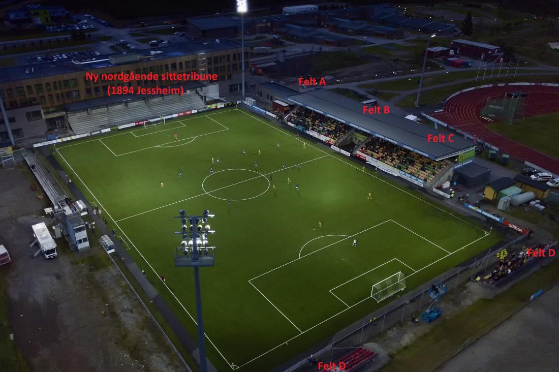 Stadion-felt