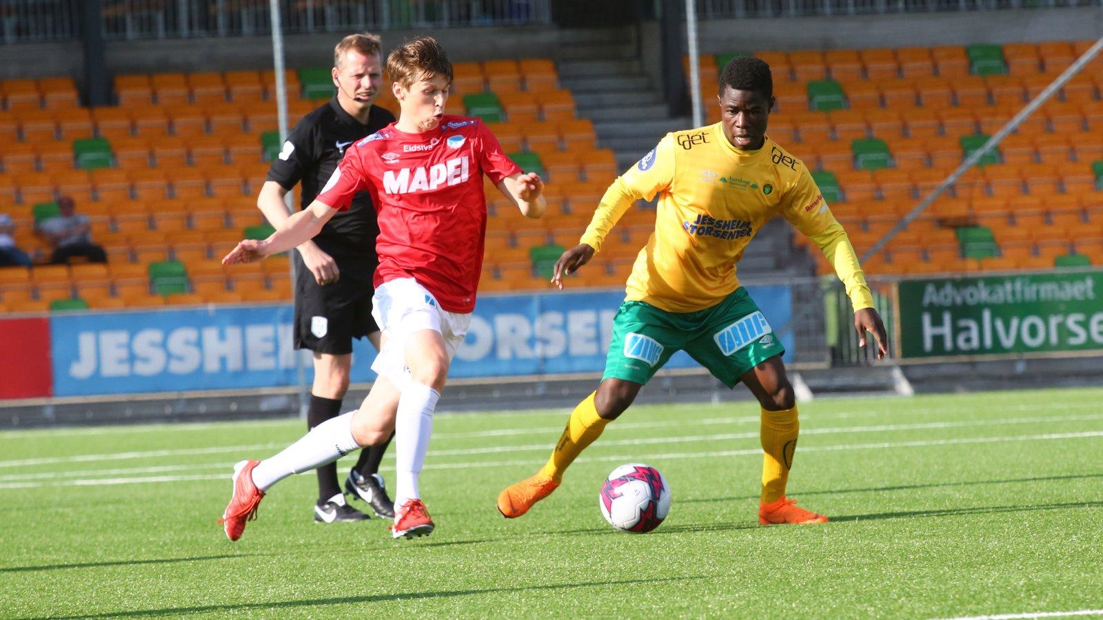 Eric Kitolano utfordrer Even Bydal i cupkampen mellom Ull/Kisa og Kongsvinger.