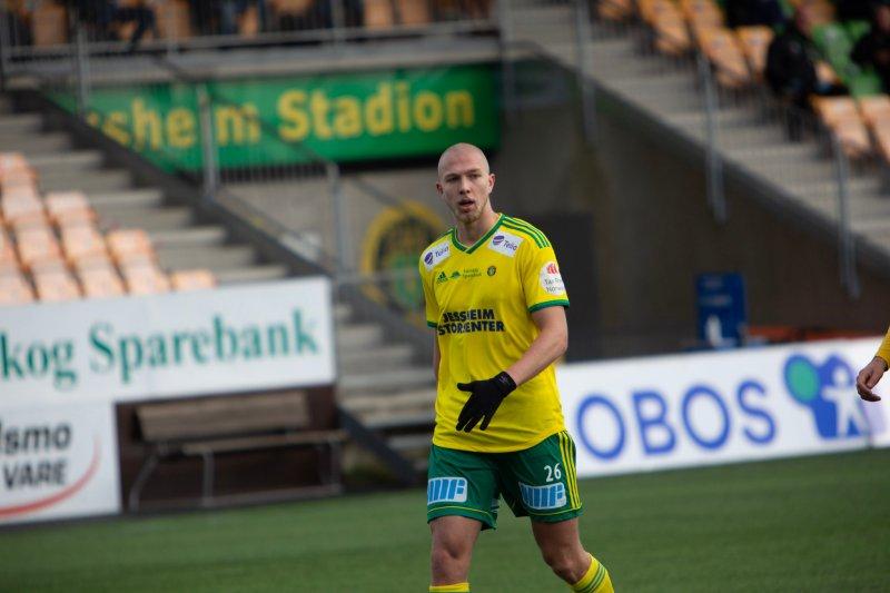 SOLID DEBUT: Fredrik Holmé.