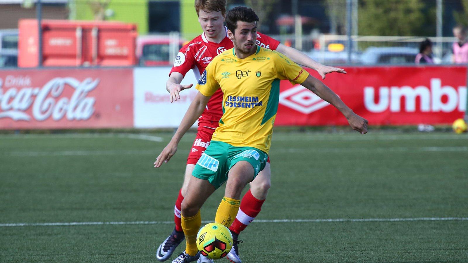 Vetle Dragsnes mot Fredrikstad i 2016.