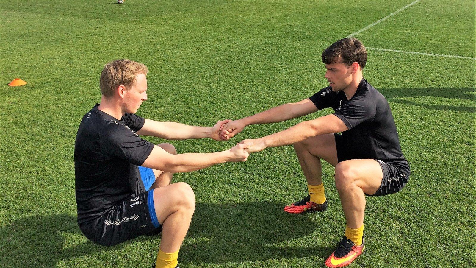 Sverre Martin Torp og Ole Kristian Langås