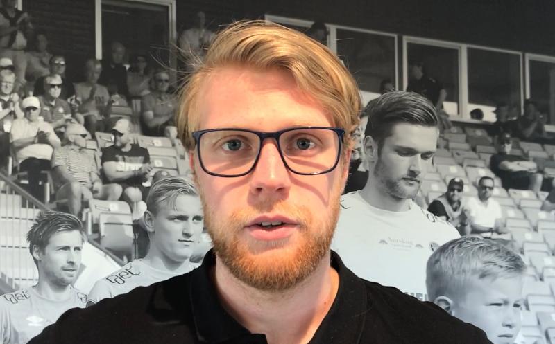 FORNØYD: Fredrik Eliassen er i gang med sitt andre år som hovedtrener for Ull/Kisas rekruttlag.