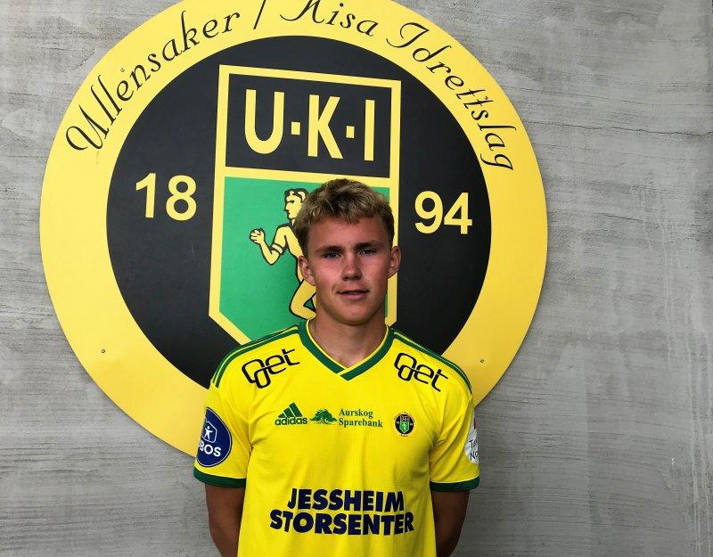 GUL OG GRØNN: Sebastian Stokke i årets Ull/Kisa-drakt.
