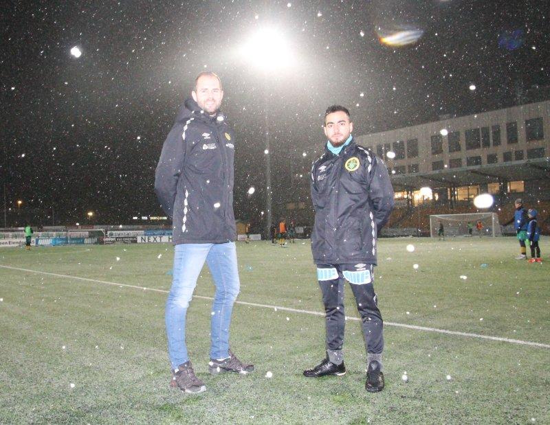 Jan Åge Leonsen Sandviken og Toana Aliassi skal drifte Ull/Kisas Fotballakademi på Jessheim, i Frogner IL og i Kløfta IL.